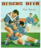 Resch's pub poster of Newtown v Eastern Suburbs match