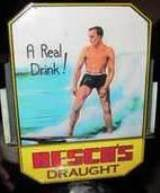 Resch's beer tap with surfer